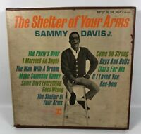 Sammy Davis Jr. The Shelter Of Your Arms Reel To Reel Tape 4 Track 7 1/2 Ips