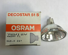 OSRAM Lámpara halógena Estrella Deco 51 S 12v 75w GU5, 3 24° 44880 FL