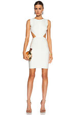 "NWT Authentic Herve Leger ""Audry"" M Alabaster Cutout Bandage Dress - $1,390"