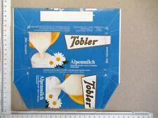 Nr.293 Tobler - Schokoladen Papier Bild Verpackung chocolate wrapper