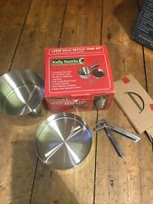 Stainless Steel Large Cook Set Fits Base Camp, Scout Kelly Kettle