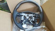 2007-2012 Toyota Highlander New Leather Wood Steering Wheel