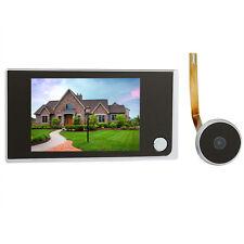 "3.5""Porta a cristalli liquidi Digital Viewer 2.0 Megapixel Videocamera spioncino"