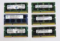 4GB DDR3 1333MHz Laptop SODIMM RAM ~ PC3-10600S Notebook Memory 204pin 1.5v VAT
