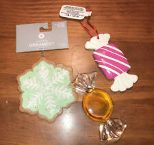 Cookie Candy Treats Ornaments new and used.. nice