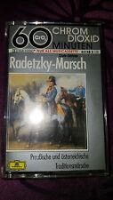 Musikkassette Radetzky Marsch / Preußische und österreichische Traditionsmärsche