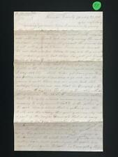 Civil War Letter to Levi (L.S.) Miller from his friend C.J. Horton - ... Lot 57