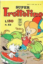 SUPER TROTTOLINO N. 53 del 1964 Edizioni Bianconi (con storia di GEPPO)