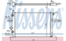 NISSENS Radiador, refrigeración del motor OPEL ASTRA ZAFIRA VAUXHALL 632481