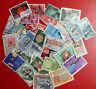 COLLEZIONE ITALIA REPUBBLICA  LOTTO 30 FRANCOBOLLI  Stamps Timbres FRANCOBOLLO