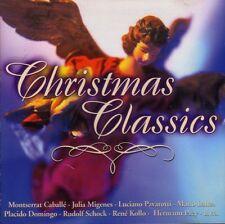 CHRISTMAS CLASSICS Caballe Julia Migenes Pavarotti Mario Lanza Domingo Shock