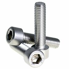 M10 x 1.25mm FINE PITCH A2 STAINLESS STEEL ALLEN BOLT SOCKET CAP SCREW HEX HEAD