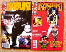 Lote de 2 Comics de Kabuki, Ediciones Glenat, 1996