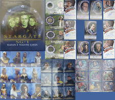 Stargate Season 5 AUTO'S WXA1 - WXA5 + A20 - A24 + C13 C14 C15 C16 PLUS Full Run