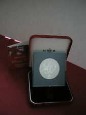 2004 PROOF ENTENTE CORDIALE £5 CROWN IN CASE WITH COA