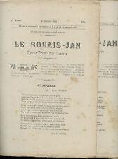 Le Bouais-Jan année 1899,
