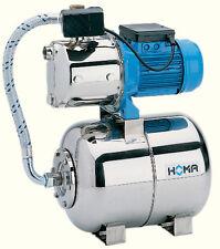HOMA HWE 76 E HauswasserwerkEdelstahl 5 bar  Hauswasserautomat Gartenpumpe