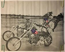 "VINTAGE 1970 BIKER HARLEY 35 x 22.5/"" Nude Body Paint MINT HONEY CYCLE POSTER"