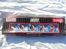 NY Giants Strand of Lights New In Box!