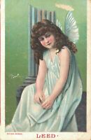 Angel - Vintage Postcard - Sorrow 03.45