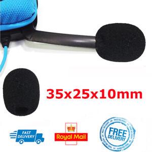 Boom Mic FOAM ONLY Pop Filter For Logitech G35 G430 G930 F540 Headset Microphone