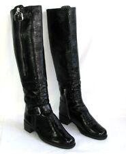 UNISA - Bottes cavalières cuir verni noir 39 - EXCELLENT ETAT