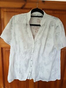 Off White Blouse Size 20