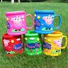 De dibujos animados taza taza Peppa Pig alcancía infantil tazas taza de lavado