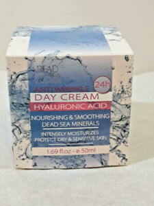 DEAD SEA Collection Anti-Wrinkle Facial Day Cream w/ Hyaluronic Acid 1.69oz