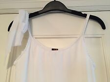 Jean Paul Gautier summer dress, sz S, white, day, beach or lounge wear