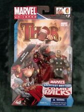 "Marvel Universe Greatest Battles 2-Pack, 3.75"" Thor & Iron Man - 2010, w/comic"