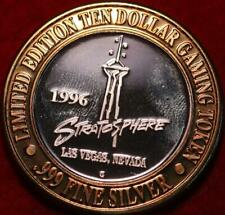 Uncirculated .999 Silver $10 Gaming Token Stratosphere