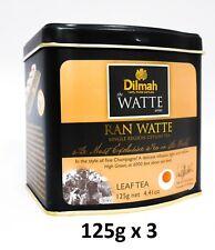 Dilmah Tea, Ran Watte Tea, Loose Leaf 125g -  4.41 Ounce Tins, (Pack of 3)