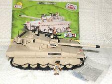 COBI Battletank Merkava 550 bricks  VERY RAR COBI - used