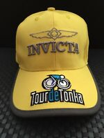 INVICTA  TOUR DE TONKA COLLECTORS ADJUSTABLE YELLOW  CAP/ HAT AWESOME