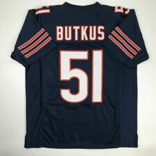 b8f73e3ab9f New DICK BUTKUS Chicago Blue Custom Stitched Football Jersey Size Men's XL