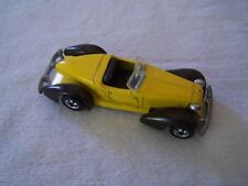 Hot Wheels 1978 MATTEL vintage Auburn 852 yellow HONG KONG Blackwall HK BW car
