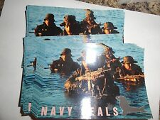 OLD POST CARD LOT SET OF APPROX 27 SEAL TEAM MILITARY SERIES NAVY SEALS ELITE ST