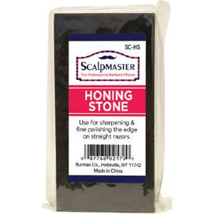 "Straight Razor Honing Stone 4""H x 2""W x 1/2""D  Scalpmaster #SC-HS"