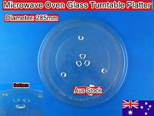 Microwave Oven Glass Turntable Plate Platter 285mm Suits Many Brand (B)
