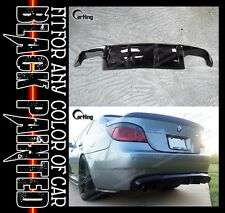 CARKING 04-09 GLOSSY BLACK PAINTED BMW E60 M5 ADD ON REAR DIFFUSER SPOILER