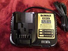 Dewalt DCB112 12/20 Volt Battery Charger New #314