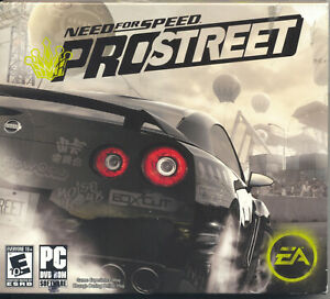 Vintage Computer Game - Need for Speed: ProStreet (2010) DVD-ROM (PC)