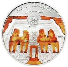 Color de las Islas Cook 1 dólar 2012 Abu Simbel - historia de Egipto CN PL