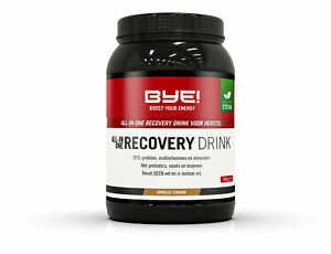 BYE! All-in-one recovery drank Vanille - 750gram