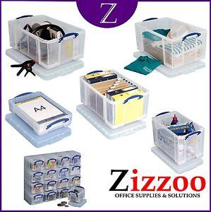 REALLY USEFUL BOXES IN SIZE OPTION 3L 4L 9L 12L 18L 24L 35L 48L 64L 84L 145L