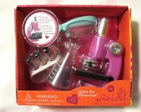 """AG Our Generation Under the Microscope Lab Tech 18"""" Girl Doll Accessories NEW!"""