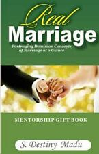 REAL MARRIAGE - MADU, DESTINY S. - NEW PAPERBACK BOOK