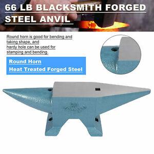 Heat Metal Forging Treated 30KG Iron Anvil Round Forged Steel Blacksmith Tool