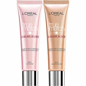 L'Oreal TRUE MATCH Liquid Highlighter Illuminator 30ml - Choose shade - NEW